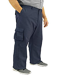 cheap -cargo pants 100% cotton 46 x 34 navy #562c