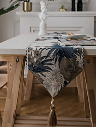 cheap -Table Runner Modern Minimalist Jacquard Table Flag