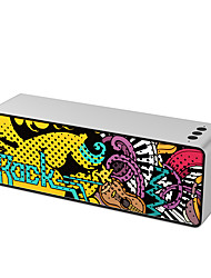 cheap -Graffiti Bluetooth SpeakersPortable Bluetooth Speaker with Loud Stereo SoundBuilt-in Mic Support Phone Calls/AUX/TF/U-DiskPerfect Portable Wireless Speaker for iPhoneAndroidPC and More