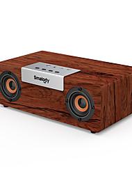cheap -High Power Bass Bluetooth Speaker Portable Wooden Wireless Speaker Stereo Outdoor Subwoofer TWS Function