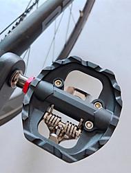 cheap -Adults' Bike Shoes Anti-Slip Breathable Mountain Bike MTB Road Cycling Cycling / Bike Black Men's Women's Cycling Shoes