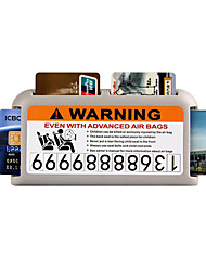 cheap -Car Sun Visor Card Clip Car Ornaments Highway IC Card Storage Box Temporary Parking Brand Auto Interior Accessories