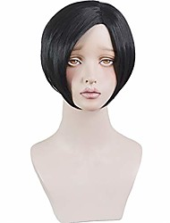 cheap -costume party cosplay wig game hair fashion halloween wig   (black)