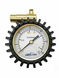cheap -presta valve pressure gauge with air pressure relief for mountain bicycle fat tires,low pressure range to 30 psi/2bar