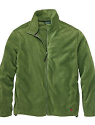 cheap -men's andes fleece jacket, pesto, small