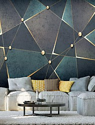 cheap -Art Deco Pattern 3D Home Decoration Classic Modern Wall Covering, Canvas Material Adhesive required Wallpaper Mural Wall Cloth, Room Wallcovering