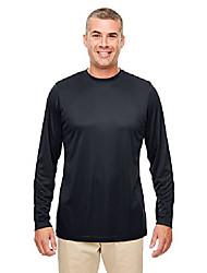 cheap -men's cool & dry performance long-sleeve t-shirt 6xl black