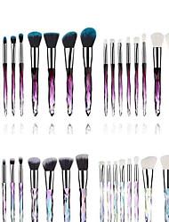cheap -10 Makeup Brushes Set Crystal Handle Makeup Brush Eye Shadow Brush Makeup Tools Makeup Tools