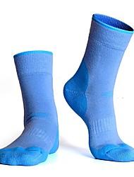 cheap -R-BAO Women's Athletic Sports Socks Ski Socks Camping / Hiking Hunting Ski / Snowboard Cushion Breathability High Elasticity Wool Ankle Socks Ski Wear / Winter / Patchwork / Stretchy