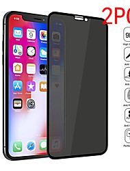 cheap -2PCS Screen Protector  iPhone 12 Mini / 12Pro Max / 12 / 12 Pro High Definition (HD) Front Screen Protector  Tempered Glass Privacy Anti-Spy