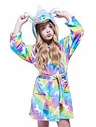 cheap -soft unicorn girl bathrobe hoodie, unisex hooded gift for girl and boys