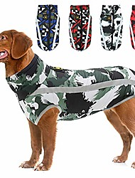 cheap -warm dog winter coat jacket,waterproof reflective dog coat dog clothes,outdoor sports pet vest apparel, windproof dog puppy snowsuit for small medium & large dogs,black,6xl