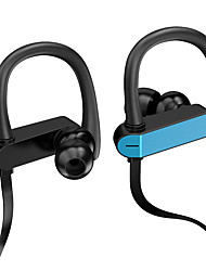 cheap -Earphones 3.5mm Sport Earphone Super Stereo Headsets Sweatproof Running Headset With Mic Ear Hook Headphone-With Portable Earphone Bags