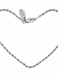 cheap -lifetime jewelry 2mm rope chain anklet for women & men 24k gold plated bracelet (white gold, 9)