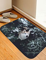 cheap -Cedar Forest Erha Digital Printing Floor Mat Modern Bath Mats Nonwoven / Memory Foam Novelty Bathroom