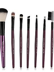 cheap -super soft, 2017 7pcs makeup cosmetic brushes eyeshadow eye shadow foundation blending brush (purple)