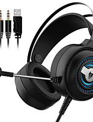 cheap -N1PRO Gaming Headset Music Headphones Stereo Over Ear Wired Earphones With Mic For PC PS4 Skype Gamer