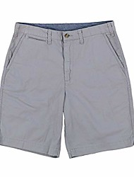 cheap -mens relaxed fit 10in chino shorts & #40;40, beige& #41;