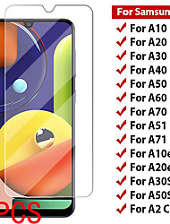 cheap -2PCS SAMSUNG Screen Protector Galaxy A71 5G / A51 4G / A90 / A80 / A70S / A10 / A20E / A30 / A40 / A50 / A60 / A01 / A11 /  A41 High Definition (HD) Front Screen Protector Tempered Glass