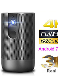 cheap -Full HD Projector Android 7.0 (2G16G) support 4K 3D ZOOM video game