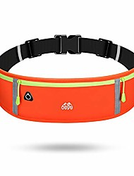 cheap -slim running belt, funny pack, lightweight waist pack, workout pouch for men or women casual, jogging, work, workout, hiking, running and other outdoor activities (#320) (orange)