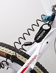 cheap -Bike Lock Bike Cable Lock Portable Lightweight Materials Flexible Locking Security Self Coiling For Road Bike Mountain Bike MTB Folding Bike Recreational Cycling Fixed Gear Bike Cycling Bicycle Zinc