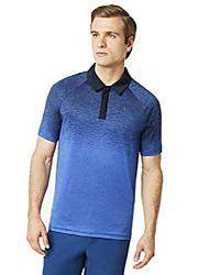 cheap -men's four jack gradient polo, foggy blue, large