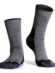 cheap -R-BAO Men's Athletic Sports Socks Ski Socks Camping / Hiking Hunting Ski / Snowboard Cushion Breathability High Elasticity Wool Ankle Socks Ski Wear / Winter / Patchwork / Stretchy