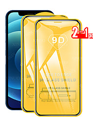cheap -2PCS 9D Full Cover Tempered Glass For iPhone 12 11 Pro Max 12 Mini Protective Films For iPhone 12 11 X XS MAX XR SE 2020 8 7 6 Plus 5 se Full Cover Screen Protector Tempered Glass