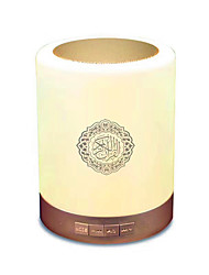 cheap -Colorful USB FM Radio Adjustable Small LED Lamp Bluetooth Speaker Touch Remote Control Gift Home Wireless Quran Portable MP3