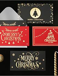 cheap -5pcs Christmas Decorations Christmas Ornaments Cards 16*10.5 cm
