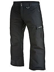cheap -men's mountain premium snowboard cargo pants, black, x-large (40-42w 30l)