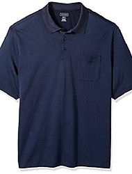 cheap -men's big and tall jacquard stripe short sleeve polo, majestic blue, 2x-large tall