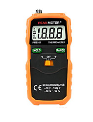 cheap -Pm6501 Electronic Thermometer with Thermocouple Probe Industrial Digital Display Thermometer