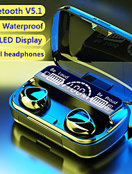 cheap -M10 TWS Wireless Bluetooth 5.1 Earphone 2000mAh Power Bank Headphones Sports Bluetooth Headset 9D HIFI Sound Earbuds