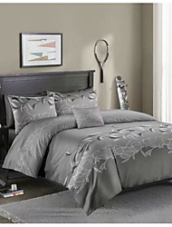cheap -Floral Print 3-Piece Duvet Cover Set Hotel Bedding Sets Comforter Cover with Soft Lightweight Microfiber ,Full/Queen/King(Include 1 Duvet Cover and 1or 2 Pillowcases)