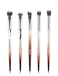 cheap -5 Heart-Shaped Eye Makeup Brush Set A Full Set of Picasso Beauty Eye Shadow Brush Set