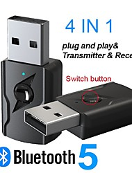 cheap -3.5mm Aux Bluetooth Stereo Receiver Transmitter Adapter Wireless USB Audio Dongle For PC TV Headphones Speaker