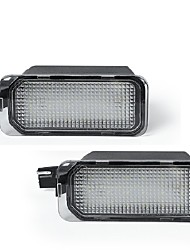 cheap -2Pcs 2W 12V 6500K  LED License Plate Light Lamp Housing For 2007-2019 Nissan Frontier 2008-2015 Nissan Armada 2007-2015 Nissan Titan 2007-2015 Nissan Xterra 2009-2012 Suzuki Equator