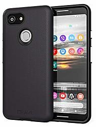 cheap -pixel 3 case,  dual guard protection series case for google pixel 3 - black