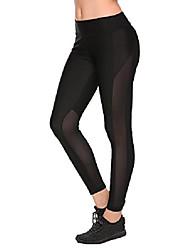 cheap -women's high waist yoga pants tummy control workout running 10 way stretch yoga leggings