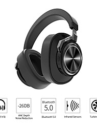 cheap -Bluedio T6S Wireless Bluetooth Headphones Active Noise Cancelling Voice Control Stereo Sound Headset With Mic For Phone Music