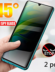 cheap -SAMSUNG Screen Protector S20 S20 Plus S20 Ultra S20 FE S10 S10 Plus S9 S9 Plus S8 S8 Plus Note 10 Note 10 Pro Note 9 Note 8 High Definition HD Front Screen Protector 2 pcs Tempered Glass Anti Peeping