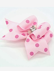 cheap -Dog Hair Accessories Puppy Clothes Dog Clothes Puppy Clothes Dog Outfits Pink Rose Costume for Girl and Boy Dog Nylon Mixed Material
