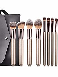 cheap -the professional makeup kit professional makeup brush sets pro 10pcs makeup brushes kit with pu bag cosmetic beauty tools professional accessories (color : gold)