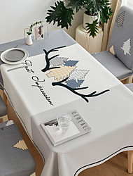 cheap -Thick Waterproof Tablecloth Square Tablecloth Decorative Kitchen Rectangular Tablecloth Nordic 1 pc