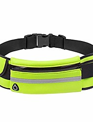 cheap -werall outdoor running waterproof anti-theft phone waist bag with earphones hole waist packs
