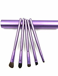 cheap -5pcs professional makeup synthetic hair eye eye shadow brushes set brush sets
