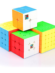 cheap -Speed Cube Set 4 pcs Magic Cube IQ Cube 2*2*2 3*3*3 4*4*4 Speedcubing Bundle Stress Reliever Puzzle Cube Speed Kid's Toy Gift