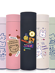 cheap -450ml Nice Bears 304 Stainless Steel Tumbler Insulated Water Bottle Portable Vacuum Flask for Travel Cup Colorful Coffee Mug